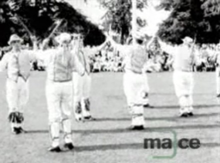 Midlands News: 15.06.1964: Morris dancing display