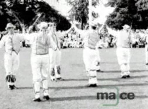 Midlands News: 15.06.1964: Morris dancing display